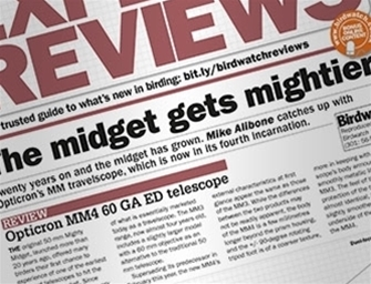 <p>We publish as many product reviews as we can find from print and online media and from our product ambassadors. Some of the reviews included here are compiled by wildlife enthusiasts that have used Opticron equipment both in the course of their work and for pleasure. If there is a product that you are interested in seeing reviewed, please let us know using the contact information at the bottom of the page.</p>